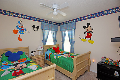Bedroom 3 - Disney Room