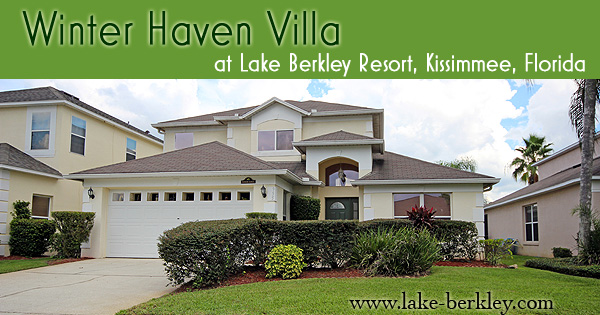 Winter Haven villa at Lake Berkley Resort Kissimmee